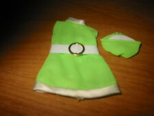 Dawn Doll, 2 Piece Outfit, Stewardess Jessica, Lime Green Dress and Hat