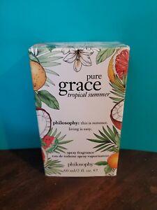 Philosophy Pure Grace Tropical Summer Eau De Toilette Spray 60ml/ 2 fl. oz