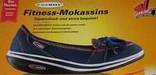 Walkmaxx Fitness Mokassins Blau - Gr. 41 - Damen Sommer Schuhe - NEU