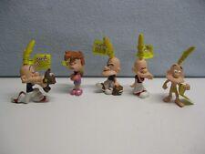 lot de 5 figurines BD ZEP TITEUF et NADIA PLASTOY en parfait état avec étiquette