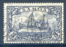German Post Offices in Samoa 1900-01 3m fine used (2019/02/14#08)