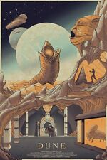 DUNE de David Lynch Alternative Movie poster art par Cristian ERES No./61 NT Mondo