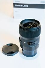 Sigma tipo 35mm 1.4 DG HSM para Sony e-Mount 35 mm f1, 4