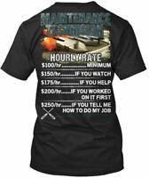 Premium Maintenance Technicians Hourly Rate - Technician Premium Tee T-Shirt