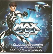 Fisher Price Mattel Max Steel Secret Identity Crisis & Cytro Attacks Dvd ~ New ~