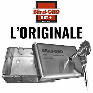 Mini Cassaforte acciaio per presa diagnosi OBD auto universale BlockBox a chiave