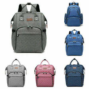 Multifunctional Nappy Rushback Mummy Changing Maternity Baby Bag Backpack Diaper