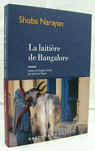 NARAYAN, Shoba - La laitière de Bangalore - Mercure de France - 2020 - Neuf