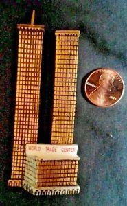 World Trade Center WTC New York City resin Magnet  3 ½ inches new bulk packaged