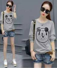 Korean Mickey Mouse Sweater (Gray)