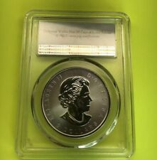 2016 Canada Howling Wolves 3/4 oz .9999 Fine Silver PCGS MS69 - First Strike