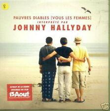 JOHNNY HALLYDAY CDS FRANCE PAUVRES DIABLES