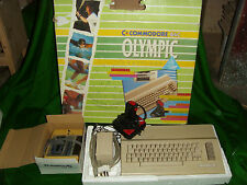 Vintage Boxed COMMODORE 64C OLYMPIC CHALLENGE PC Computer Game System