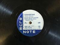 "Sidney Bechet Blue Note 12"" Only - Summertime / Pounding Heart Blues 6-A"