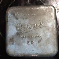 Vintage Camp Stove Made in Sweden Single Burner Optimus 111B