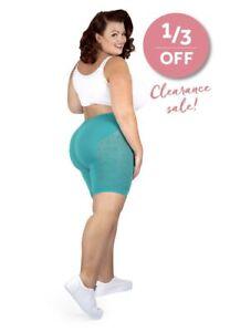 Aztec Plus Size Anti Chafing Slip Shorts Knickers Thigh-Rub UK 8-28 SALE 33% OFF