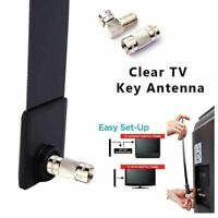 Clear TV Key HDTV FREE TV Digital Indoor Antenna Ditch Cable As Seen on TV Kit