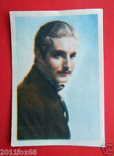 actors acteurs figurine cards nestle stars of the silver screen #90 robert donat
