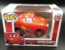 """Disney's Pixar """"Lighting McQueen"""" No: 128 Funko Pop Vinyl"""