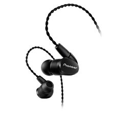 New! Pioneer SE-CH5BL-K Canal type Earphone Black from Japan Import!