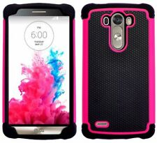 Étuis, housses et coques roses en silicone, caoutchouc, gel pour téléphone mobile et assistant personnel (PDA) LG