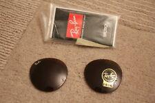 Genuine lenses for Ray Ban 2447 Round 49 eye, B15 Bronze.