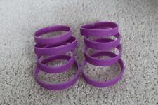 A Complaint Free World Silicone Bracelets (Set of 8)