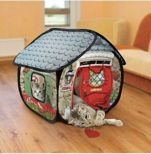 KONG Play Spaces Bungalow- Cats Need To Play !! Cat playhouse