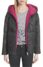 100% AUTHENTIC NEW WOMEN BURBERRY BLACK TYNEHAM  QUILTED JACKET/COAT US L 10-12