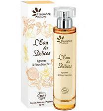 Eau de Parfum femme 50ml L'Eau des Délices (Bio) neuf / Agrumes, fleurs blanches