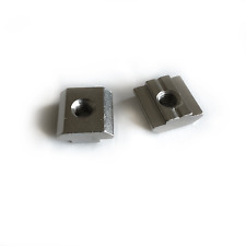 Pair Sliding SoBo T Track M6 Nuts For Jigs Fixtures Feather Boards, Router Table