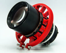 Cinematics follow focus gear ring 70~80mm adjustable for dslr lens focusing red