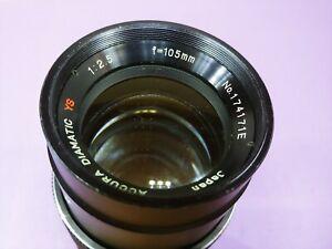 Vivitar 100mm 1:2.8 Portrait Lens M42 screw mount -- case for 100mm lens