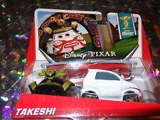 "DISNEY PIXAR CARS ""TAKESHI"" Super Chase! Scale1:55, Die-Cast Metal, NEW, Mattel"