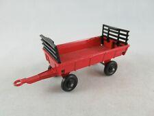 Matchbox Lesney TP Hay trailer red