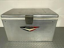 Vintage Thermaster Metal Cooler Lined Lifetex Poloron Products Ice Chest Nice