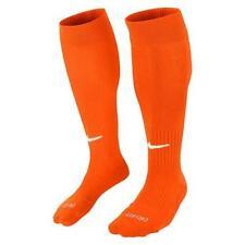 Nike Classic II Cushioned Over-the-Calf Soccer Socks Sz Large Orange SX5728-817