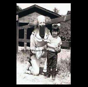 Scary Vintage Creepy Clown PHOTO Freak Weird Halloween Long Face It is Weird!