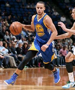 Stephen Curry Unsigned 8x10 Golden State Warriors (1)