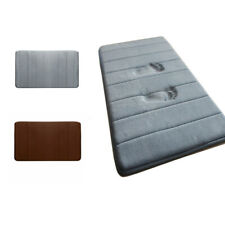 Absorbent Memory Foam Bath Mats Non-slip Bathroom Floor Shower Soft Carpet Rugs