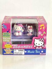 Sanrio Hello Kitty Piano Music Box 2001 NRFB / NIB / Rare HTF Bunny Turns On Top