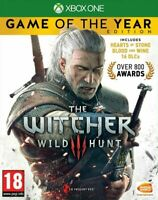 The Witcher 3: Wild Hunt - Game of the Year Edition - Xbox One - New & Sealed