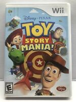 TOY STORY MANIA (Nintendo Wii) Complete w/ Manual - Clean & Tested Working