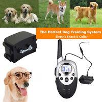 1000M Collier de dressage pour chien electrique chock PORTEE avec Télécommande