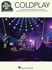 Coldplay All Jazzed Up! Sheet Music Piano Solo Book NEW 000149026