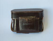 Vintage Leather Case for Voigtlander Perkeo Camera Made in Germany