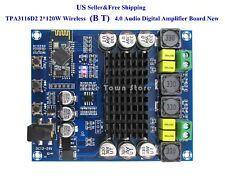 US TPA3116D2 2*120W Wireless 4.0 Audio Receiver Digital Amplifier Board New