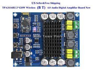 US TPA3116D2 2*120W Wireless Bluetoth 4.0 Audio Receiver Digital Amplifier Board