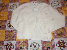 cardigan repetto  neuf  ecru gisele 10 ans 20% cashemire cache coeur 84eur