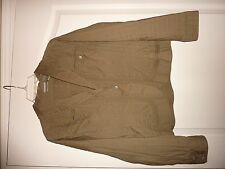 Chico's size 1 khaki green short jacket